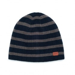 MERINOBEANIE HEATHER GREY ST