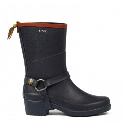 Aigle Miss Julie Marine/Rouge Bottillons