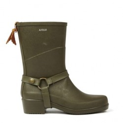 Aigle Miss Julie Kaki Bottillons
