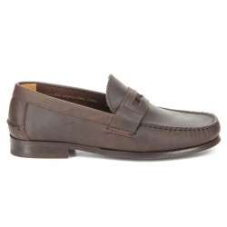 Sebago Conrad Penny Dark Brown Oiled