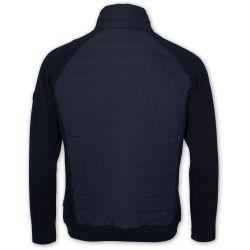 Sebago Pad Knit Jacket Navy