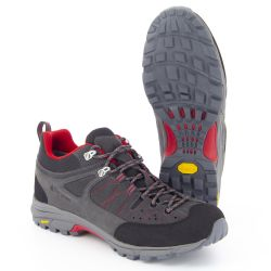 BESANCON Anthracite/Red