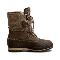 HANS Leather/Wool Dark brown