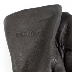 Sebago Deerskin Gloves Black