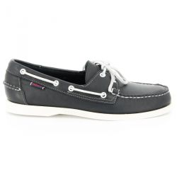 Sebago Docksides Blue Navy Leather