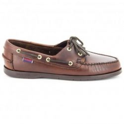 Sebago Victory Brown Oiled Waxy Leather