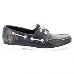 Sebago Docksides Femme Blue Nite Leather