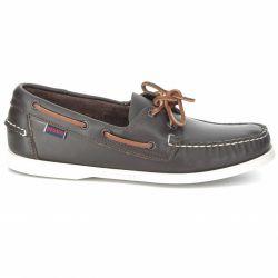 4ff694e42dc435 DOCKSIDES Wine Leather DOCKSIDES Wine Leather. SEBAGO. L'emblématique chaussure  bateau ...