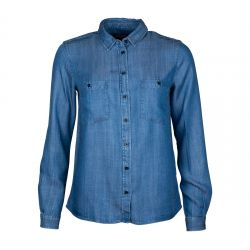 BROOKE DENIM SHIRT DENIM