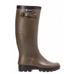 Aigle Benyl Xl Botte Kaki Mollets Large