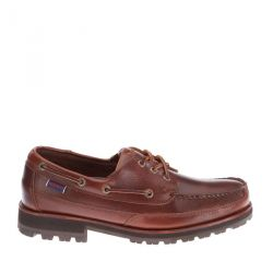 Sebago Vershire Three-Eye Brown Cinnamon