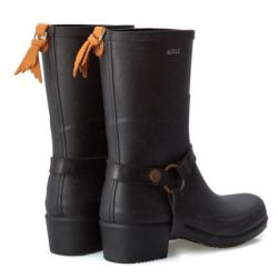 Aigle Miss Julie Noir Bottillons