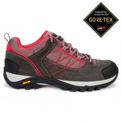 Aigle Mooven Low W Gore-Tex Dark Grey/Cherry