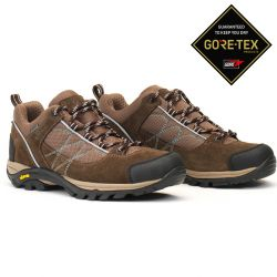 Aigle Mooven Low W Gore-Tex Dark Brown/Agave