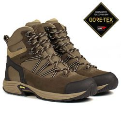 Aigle Mooven Mid Gore-Tex Dark Brown/Beige