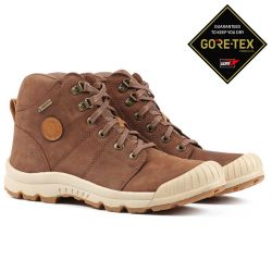 Aigle Tenere Light Gore-Tex Leather Camel