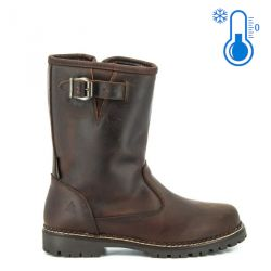 Berghen Aude Leather Dark brown