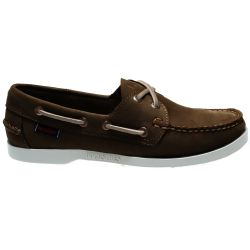 Sebago Docksides Portland Nubuck Dark Brown