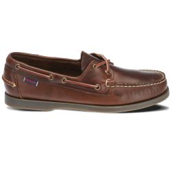 Sebago Docksides Portland Waxed Brown Gum