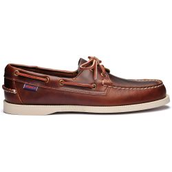 Sebago Docksides Portland Waxed Brown