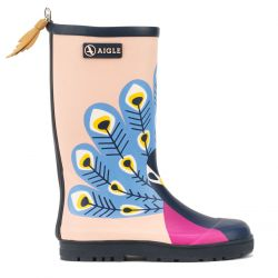 Aigle Woodypop Fun Paon