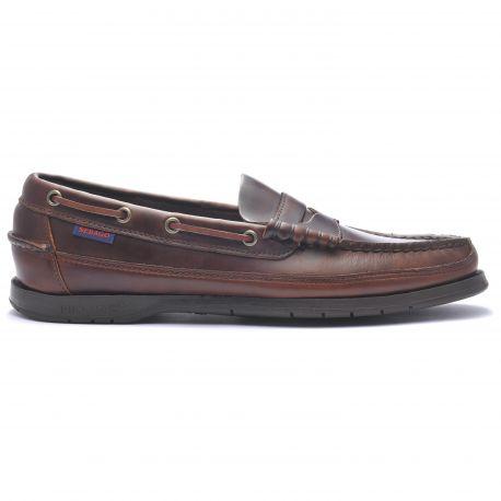 034143a6806 Sebago Docksides Sloop Brown Gum - Berghen Store