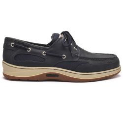 Sebago Docksides Clovehitch II FGL Waxed Blue/Navy