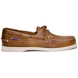 Sebago Docksides Portland Women Crazy Brown Tan