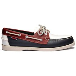 Sebago Docksides Portland Spinnaker Navy/Red/White