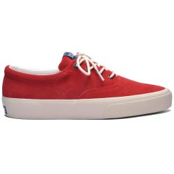 Sebago Docksides John Women Red