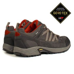Aigle Mooven Low GTX Grey/Rouge