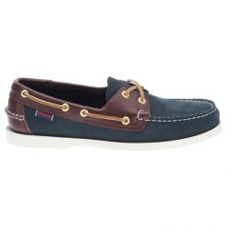 Sebago Docksides Navy/Brown