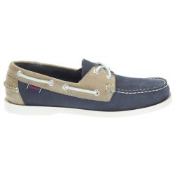 Sebago Docksides Navy/Grey