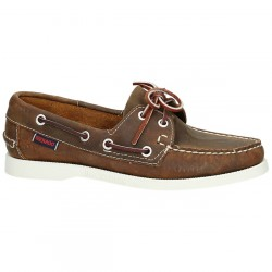 Sebago Docksides Dames Chocolate Nubuck