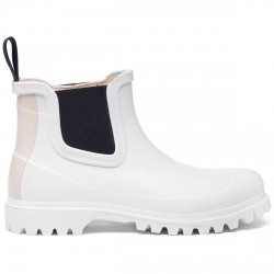 798 RUBBER BOOTS LETTER White