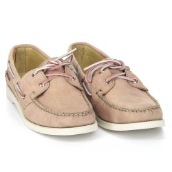 DOCKSIDES Mauve Leather