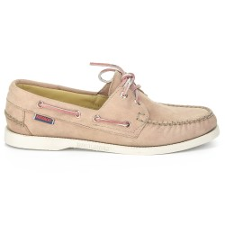 Sebago Docksides Dames Mauve Leather