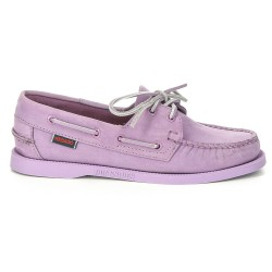 Sebago Docksides Femme Light Purple Nubuck