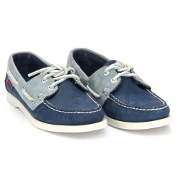 DOCKSIDES Navy/Blue Nubuck