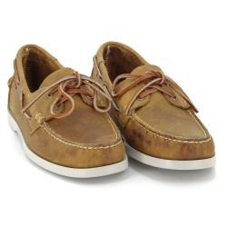 DOCKSIDES Brown Leather