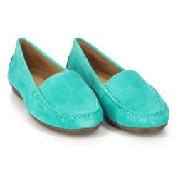 Meriden Moc Turquoise