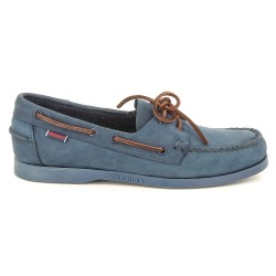 DOCKSIDES Navy/Brown Lace Nubuck