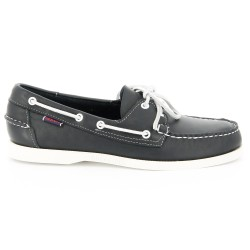 Sebago Docksides Blue Nite Leather