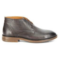 Sebago Bryant Chukka Dark Brown Pebbled