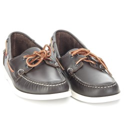 Sebago Docksides Wine Leather