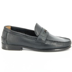 Sebago Conrad Penny Black Leather