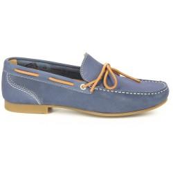 Sebago Trenton Tie Blue