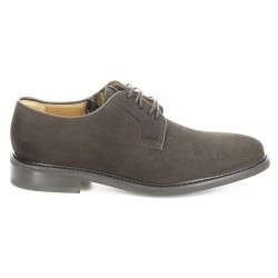 Sebago Harwich Dark Brown Suede (Rubber Sole)