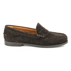 Sebago Plaza Brown Suede