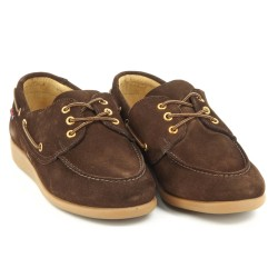 Jobson Docksides Dark Brown Suede